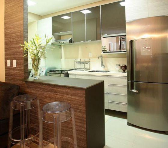 Modelo para cocinas americanas peque as cocinas en salon for Modelos cocinas pequenas
