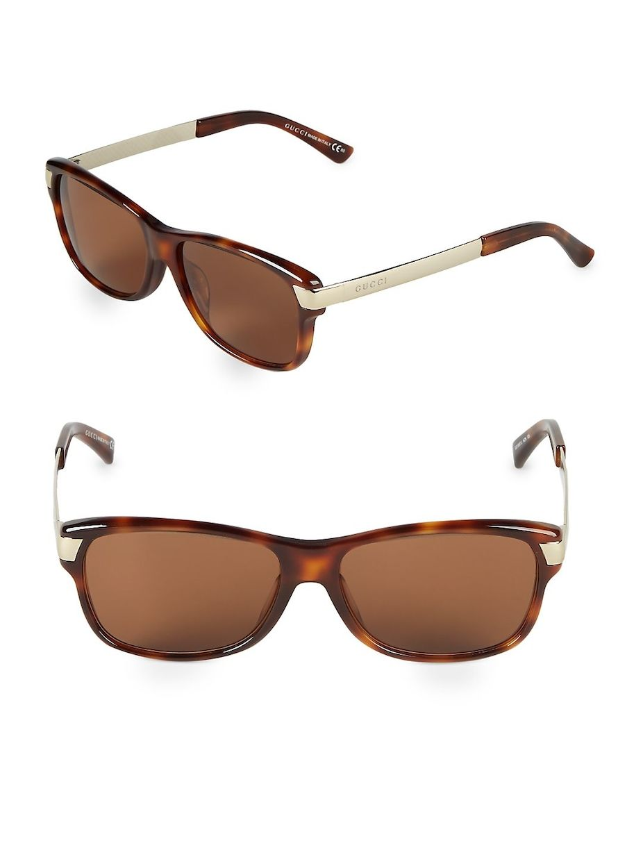 2b1aeaa105b Gucci 56MM Square Sunglasses