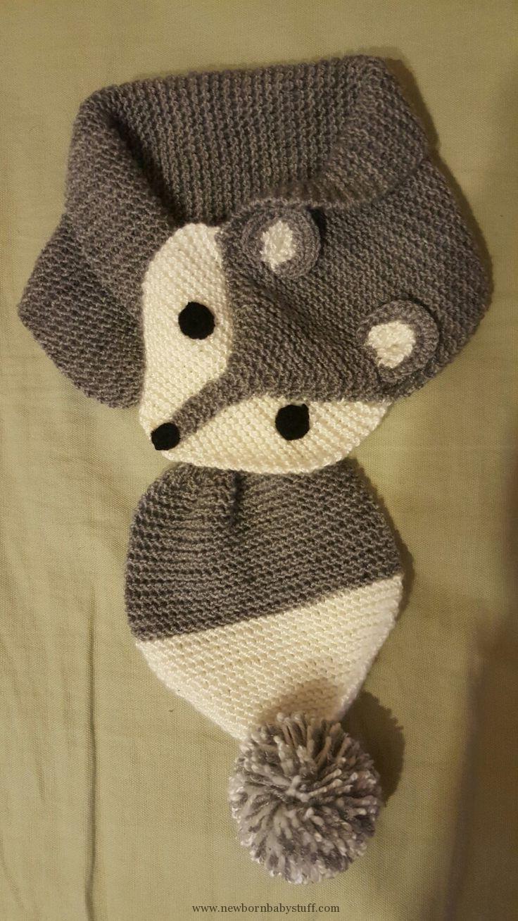 Bufanda de punto para bebé, #scarf (NewBorn Baby Stuff) - patrón de punto para bebé, ...
