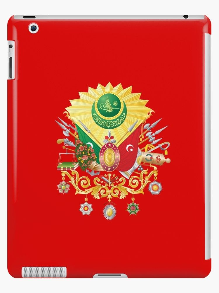 differently 4335d d2e82 Ottoman Empire Emblem Design' iPad Case/Skin by Omar Dakhane in 2019 ...