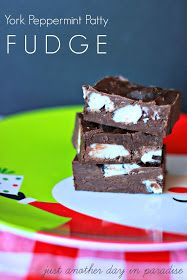 Just Another Day in Paradise: York Peppermint Patty Fudge {3 ingredients}