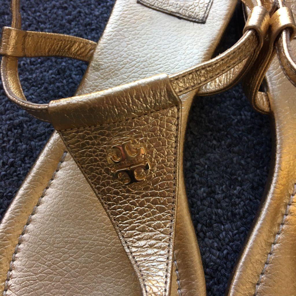 Tory Burch Sandals Gold