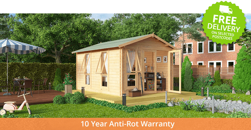 Buy A Billyoh Sasha Log Cabin Summerhouse From Garden Buildings