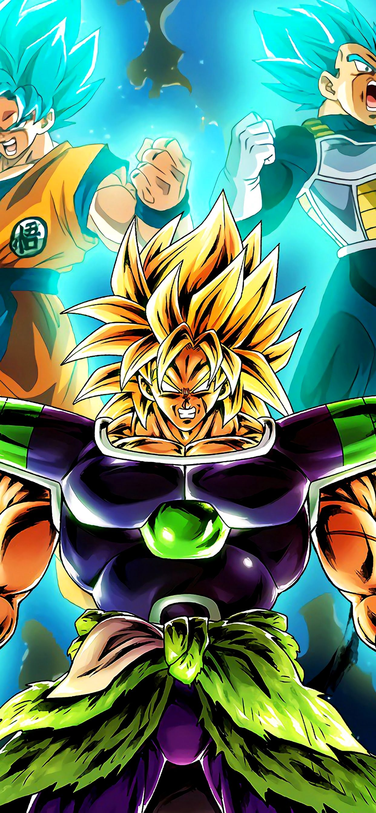 Broly Wallpaper 4k Iphone Ideas Di 2020 Fotografi
