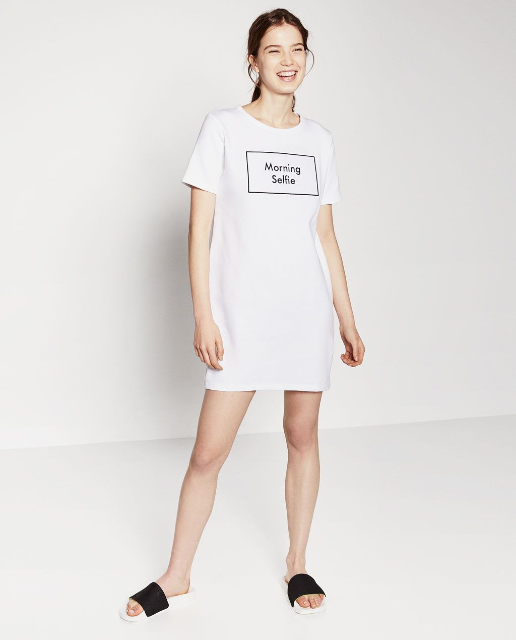 504831c0 Zara Morning Selfie Shirt Dress | ZARA Казахстан | College Student ...