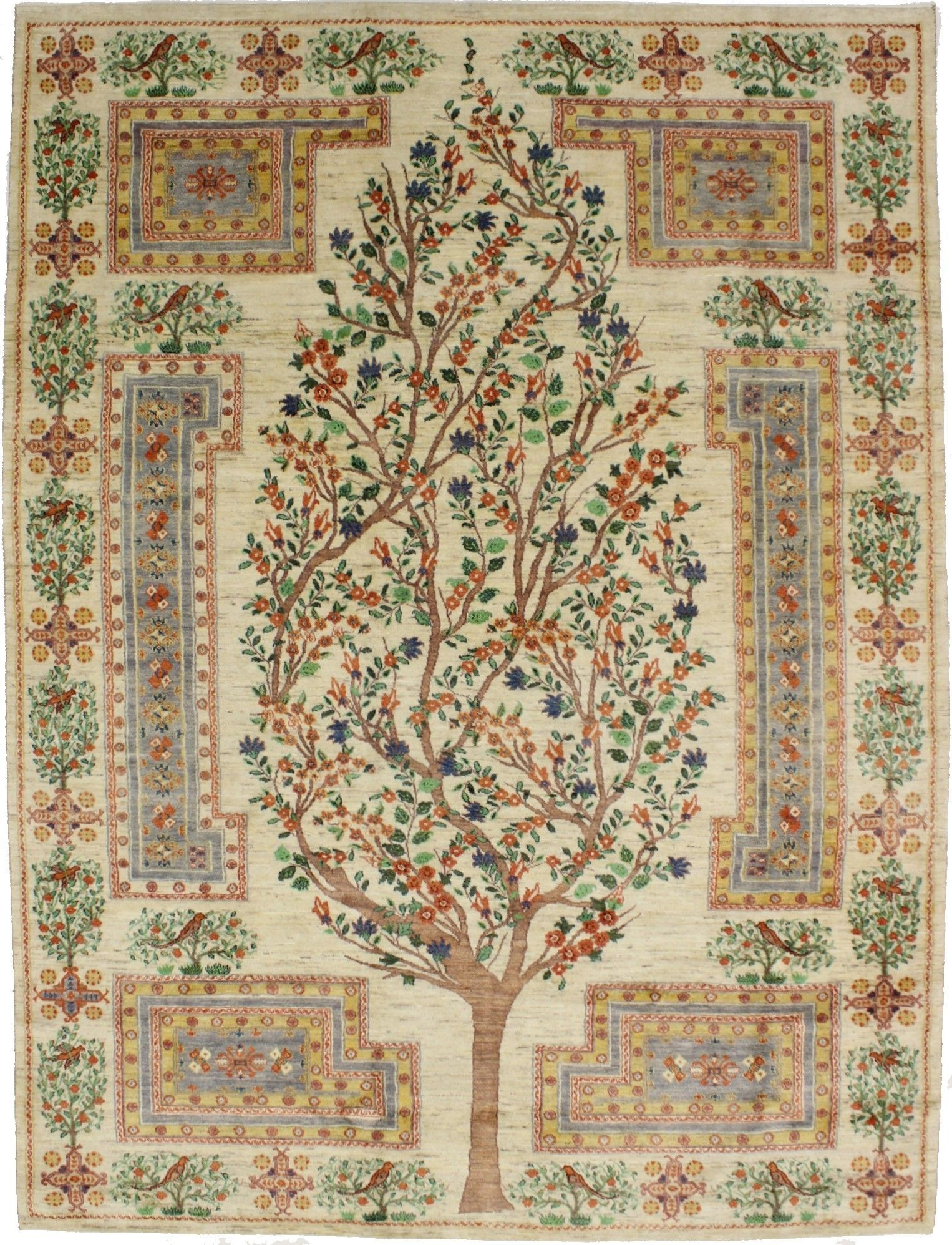 Astounding Gabbeh Tree Of Life Oriental Handmade Area Rug Authentic Affordable Persian Area Rug Magic Rugs Anti Rugs Persian Area Rugs Affordable Area Rugs
