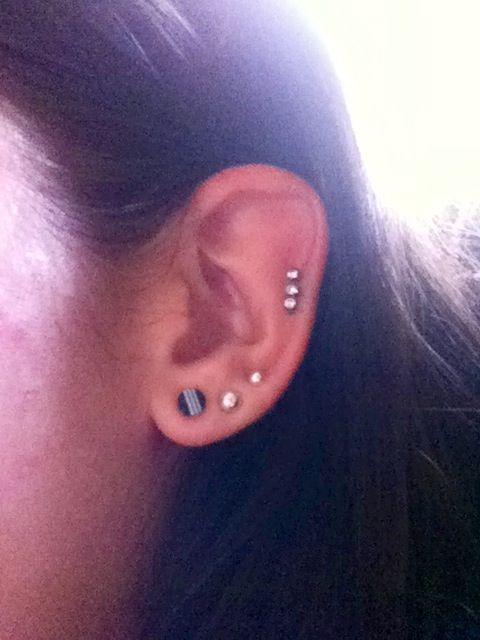 10 Gauge Plugs Gauges Ear Piercings Body Mods Modifications Earrings