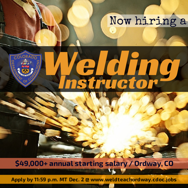 Welders, it's your LUCKY DAY! We now have two Welding ...