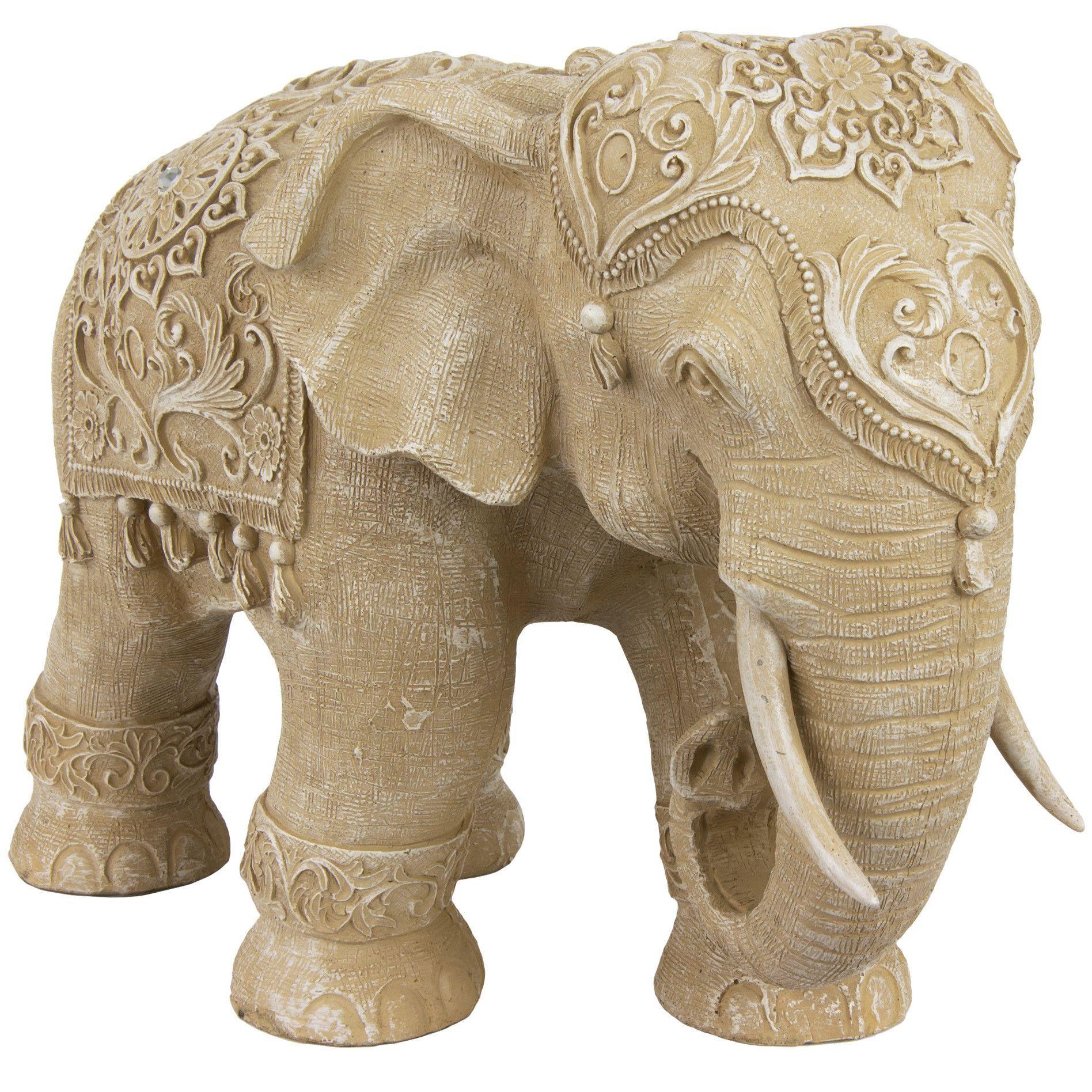 Standing Elephant Figurine Слоны, Скульптуры животных и