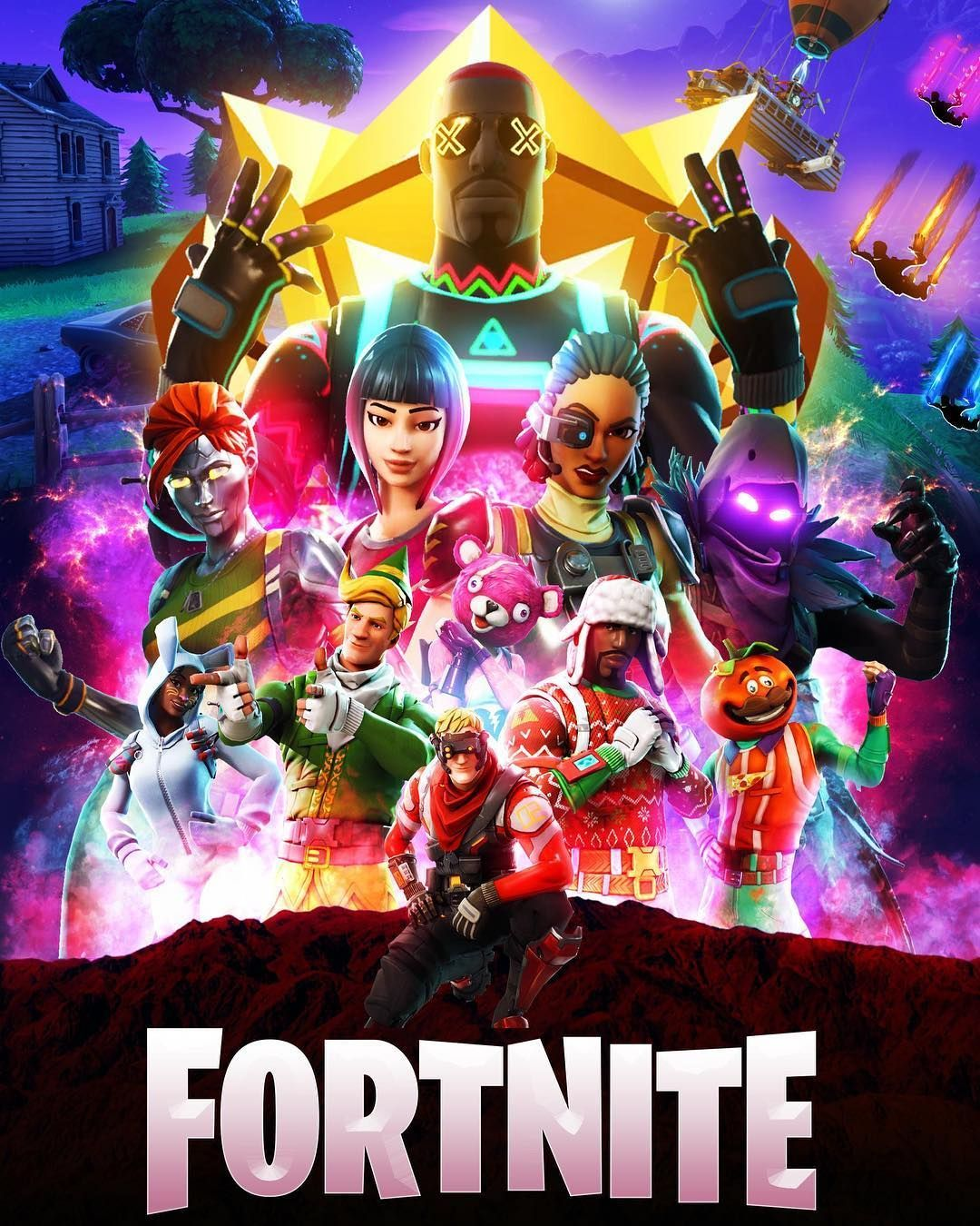 F O R T N I T E Gaming Wallpapers Epic Games Fortnite