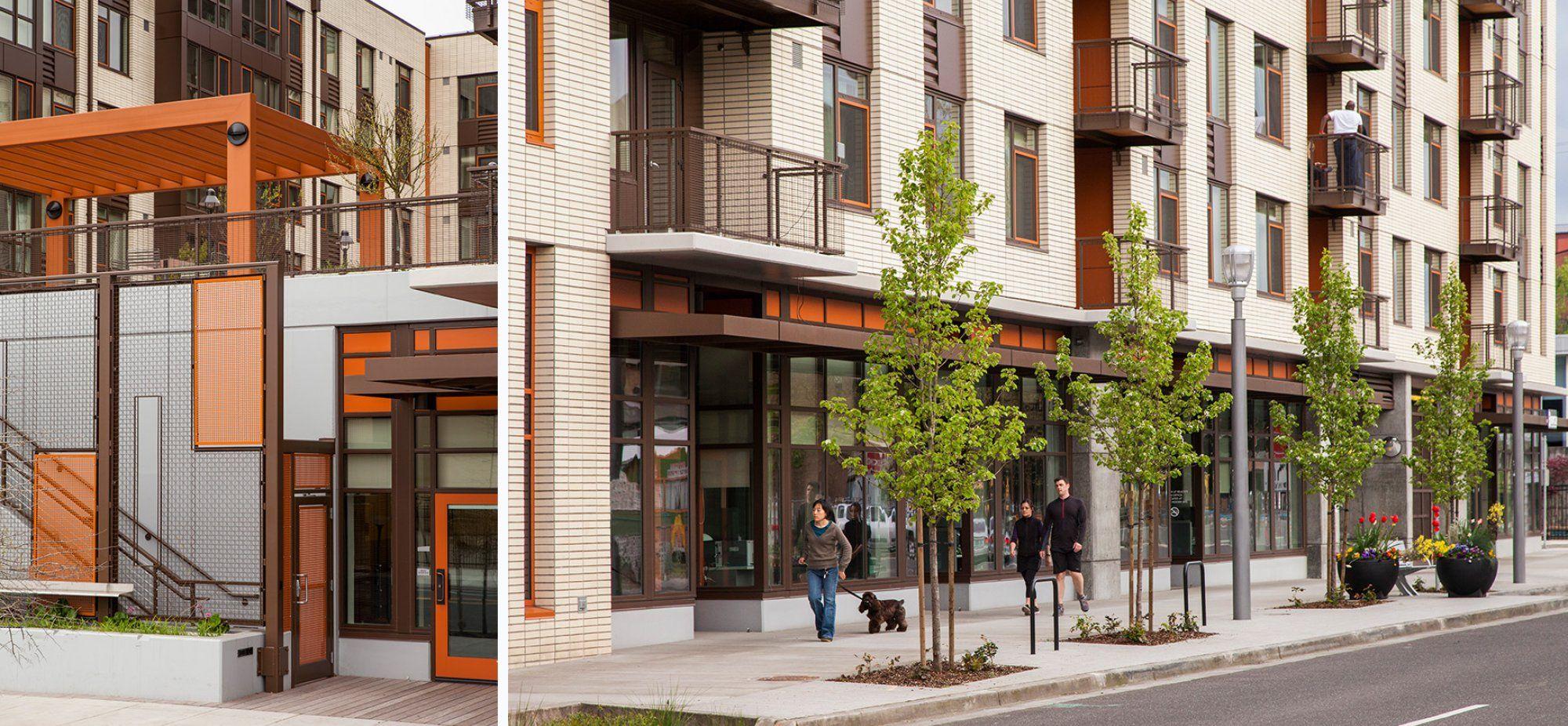 Gray S Landing Ankrom Moisan Architects Inc Architecture Mix Use Building Multifamily Housing