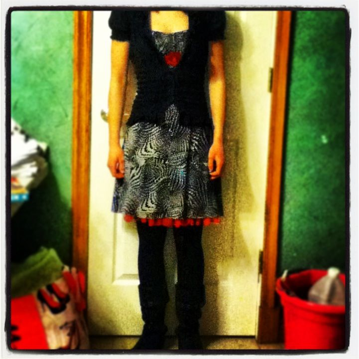 What I've decided to wear to my audition!