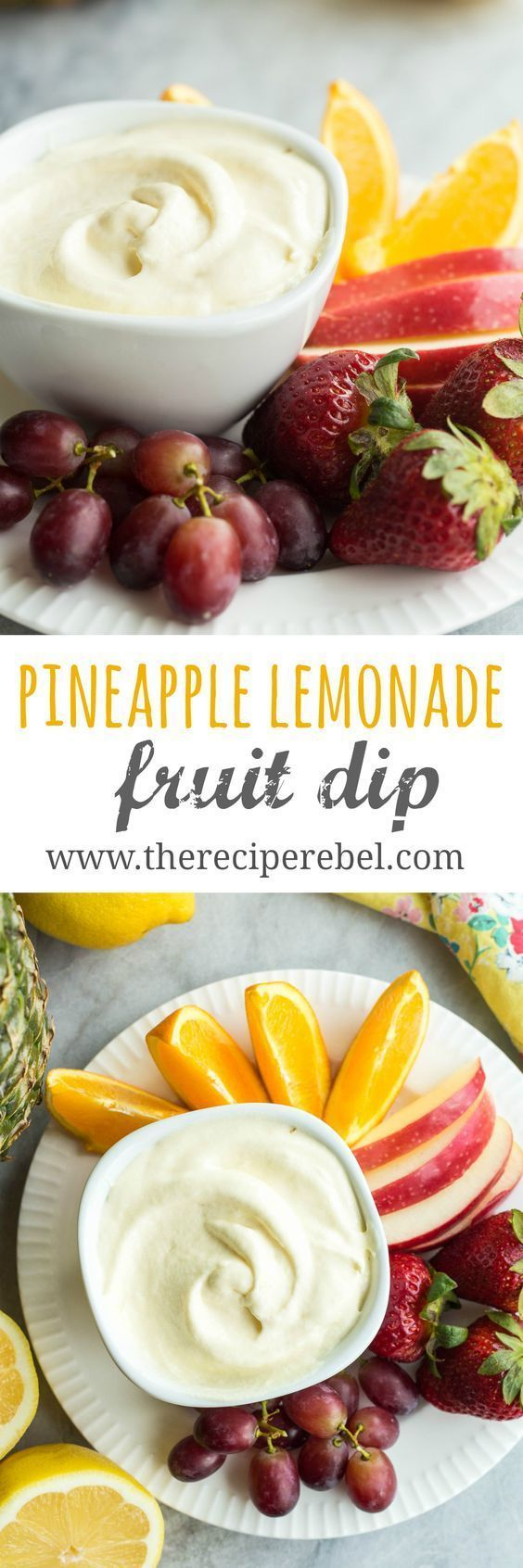 This creamy Pineapple Lemonade fruit dip is made with a homemade pineapple lemon curd and whipped cream! Change up the fruit juice flavors to make any kind! #pineapplelemonade This creamy Pineapple Lemonade fruit dip is made with a homemade pineapple lemon curd and whipped cream! Change up the fruit juice flavors to make any kind! #pineapplelemonade This creamy Pineapple Lemonade fruit dip is made with a homemade pineapple lemon curd and whipped cream! Change up the fruit juice flavors to make a #pineapplelemonade