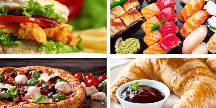 Enjoy Delicious Food With Online Deals And Coupons Fast Food Coupons Online Food Food