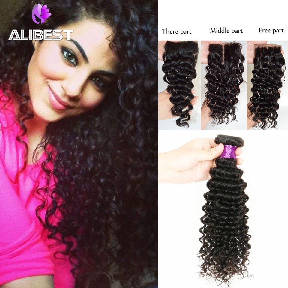 Aliexpress Buy Malaysia Virgin Hair With Closure Unprocessed