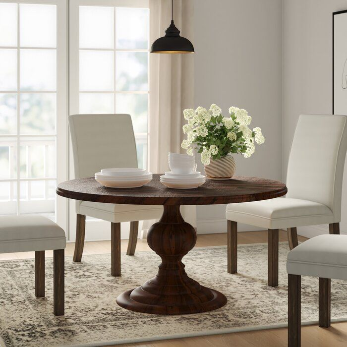 Hoyt Solid Wood Dining Table Reviews Joss Main In 2020 With