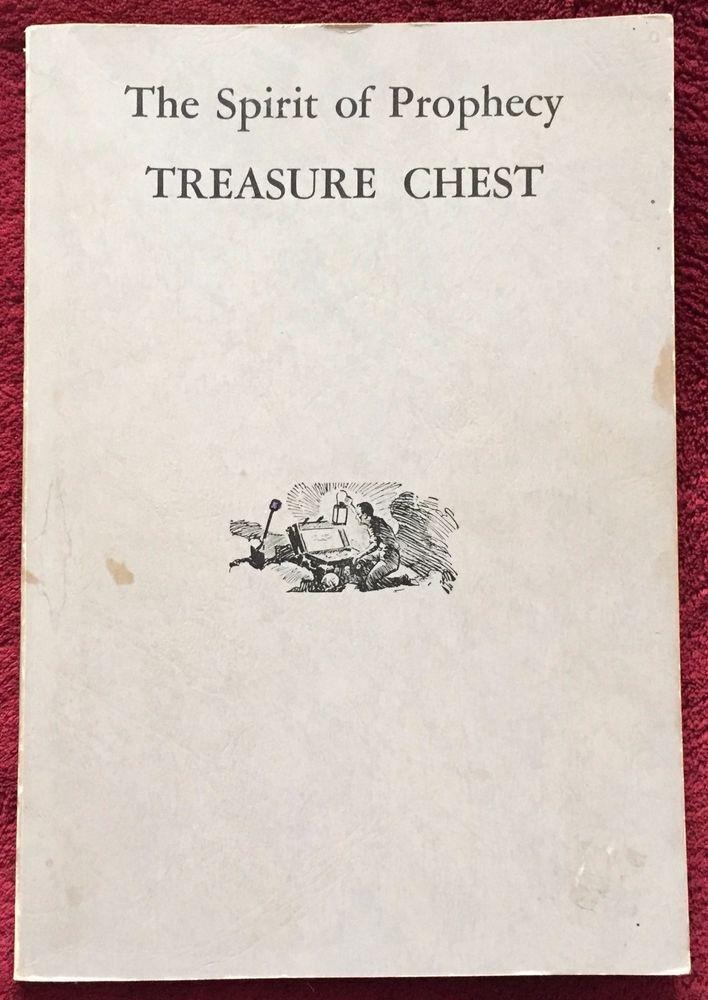 The Spirit Of Prophecy Treasure Chest Ellen G White C 1960 Egw Estate 192 Pp Pb Treasure Chest Ellen G White Chest