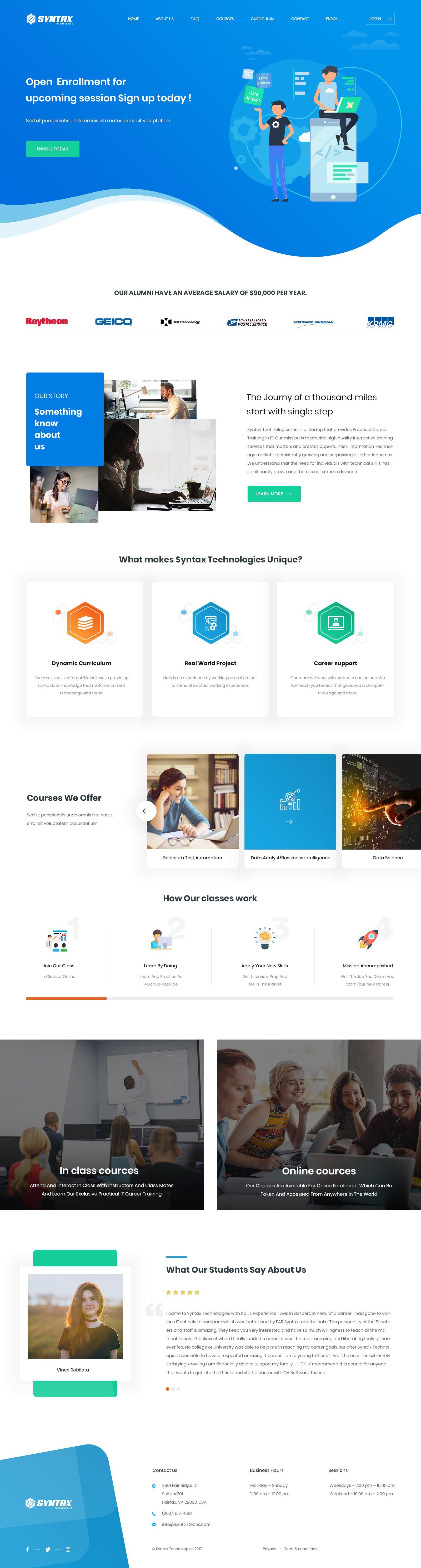 Home Page Web Design Layout Design Design