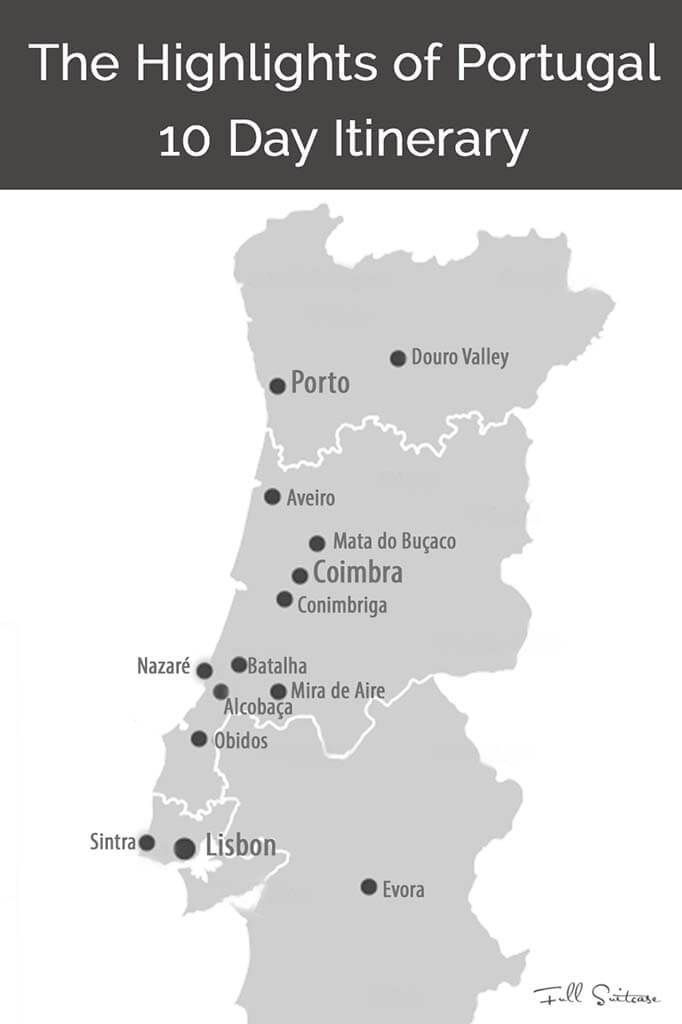 10 Days In Portugal Trip Itinerary From Lisbon To Porto