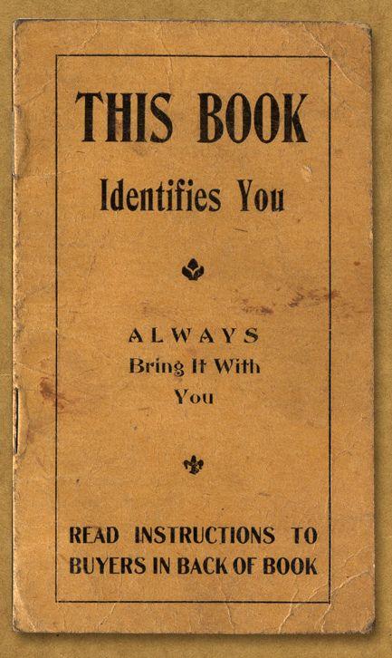 Crap, I lost my book! Who am I?!