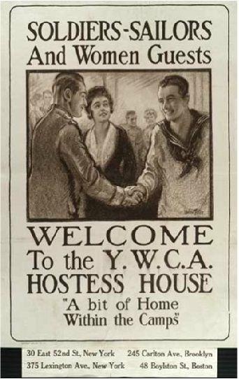 YWCA, WWI - America