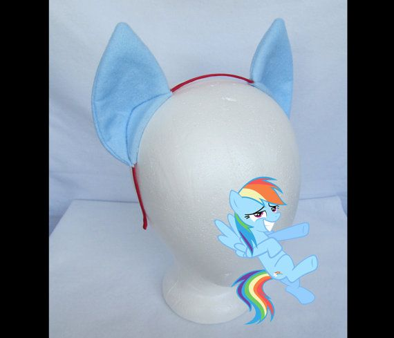 Pony Ears Custom Color OC Original Character ears Cosplay Ears Costume Ears Horse Ears My Little Pony Ears