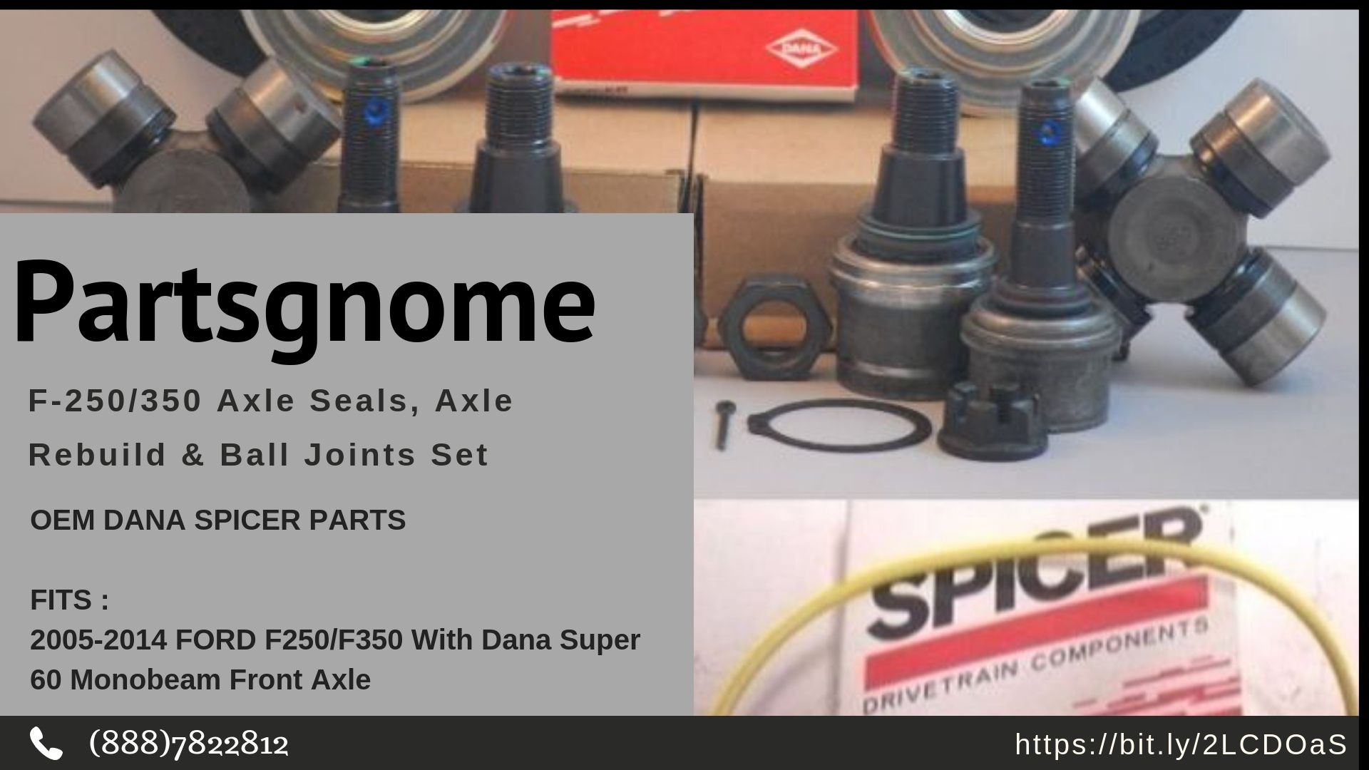 Find great deals for Ford 250/350 Axle Seals, Axle Rebuild