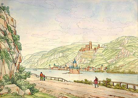 Rhein Spazieren