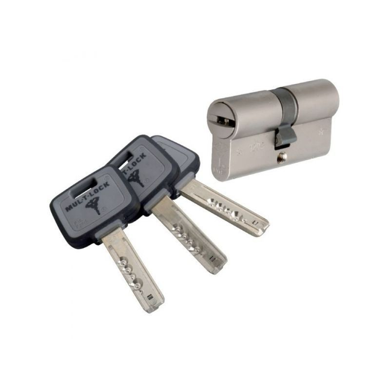 Cylindre 2 Entrees Varie Nickele 50 X 31 Mm Mt5 Mul T Lock