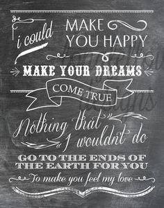 To Make You Feel My Love Music Quotes Lyrics Lyrics How Are