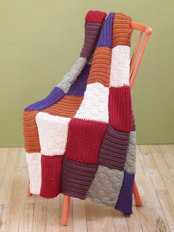 Loom Knit Sampler Afghan | knit/crochet | Pinterest | Ganchillo y ...