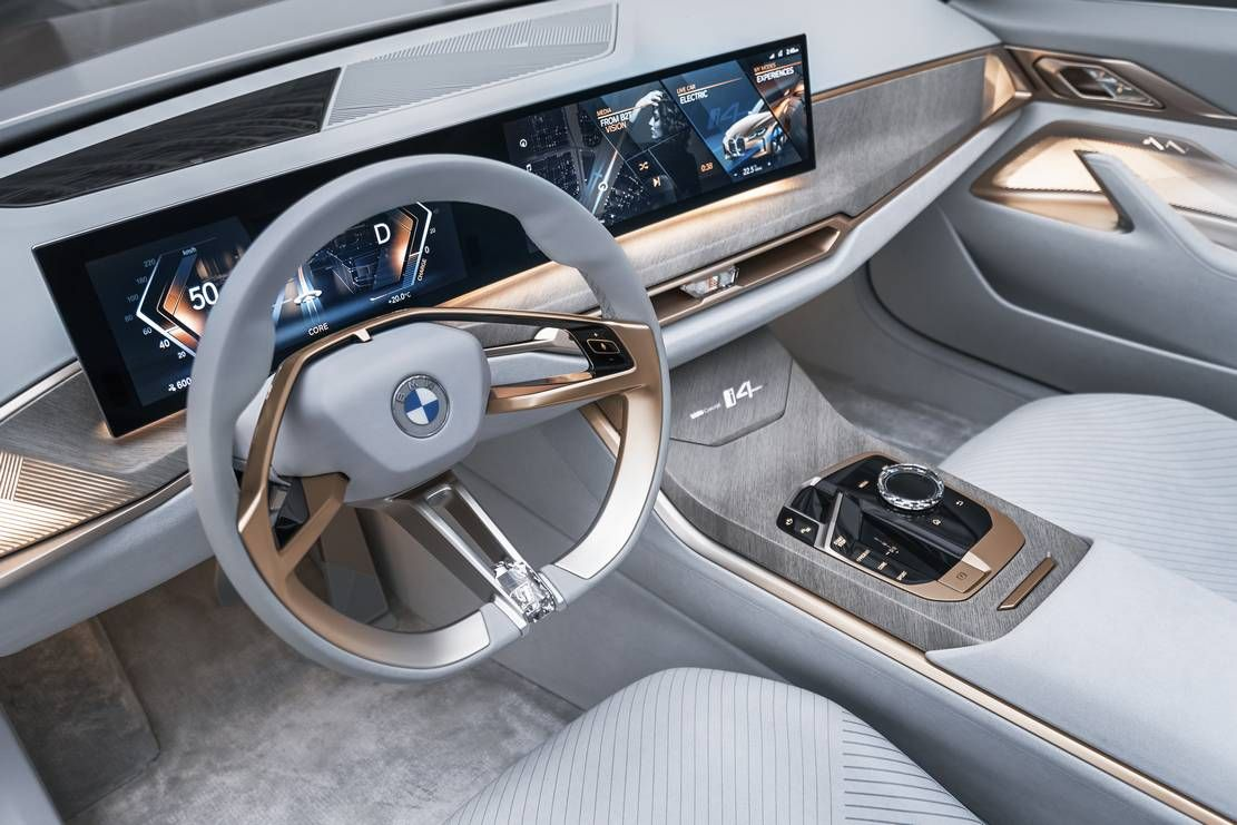 Bmw I4 Concept Bmw Concept Bmw Electric Car Bmw