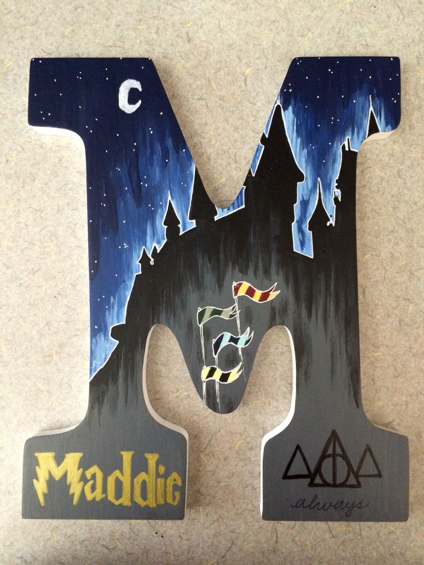 Harry Potter Craft Ideas For Kids Part - 38: This Is Pretty Great Actually, Since My Name Is Practically Already. Harry  Potter ...