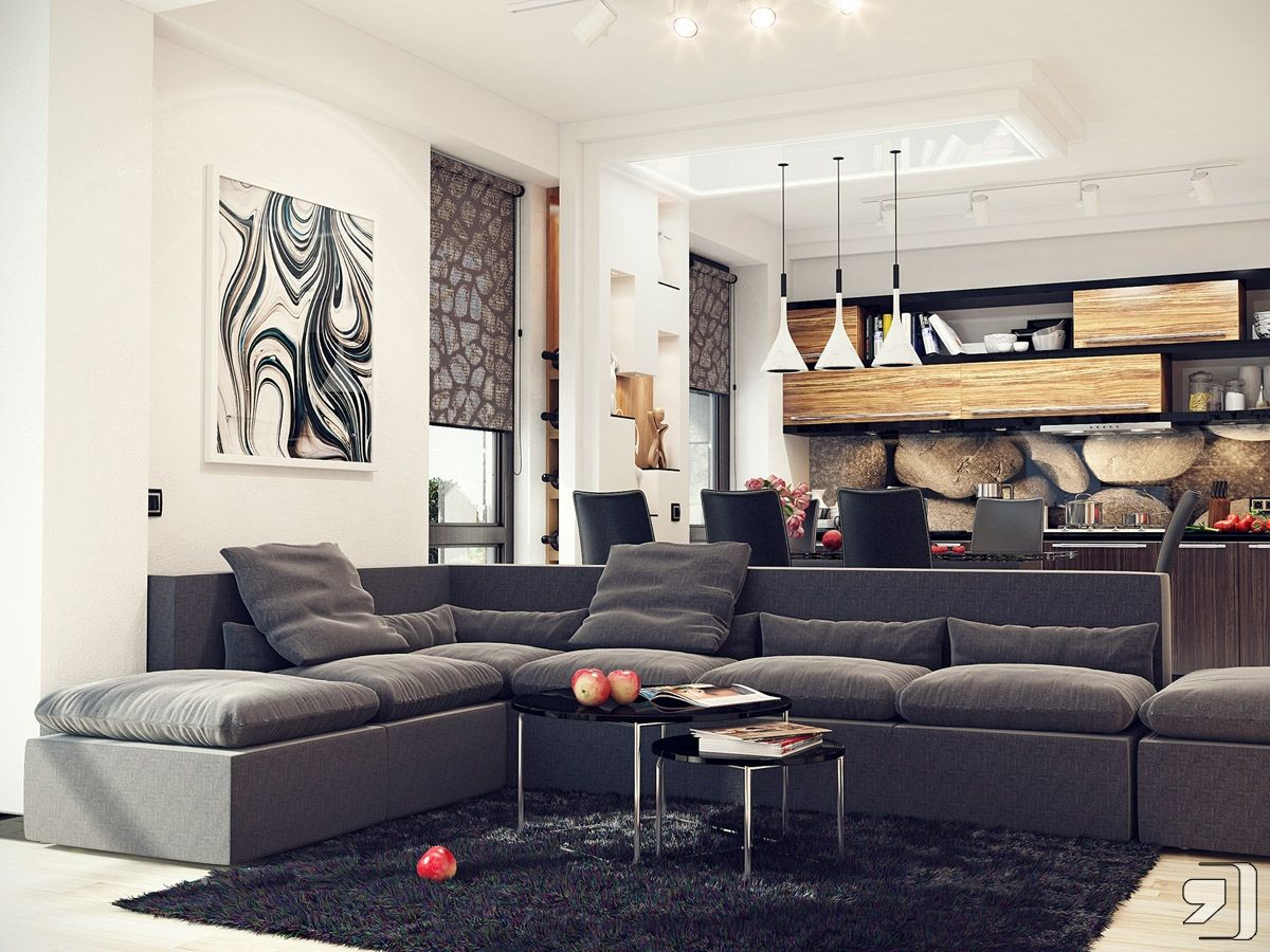 Or You Can Transform Your Living Room With Inspiration From This Impressive Interior Designs Ideas For The Living Room 2018