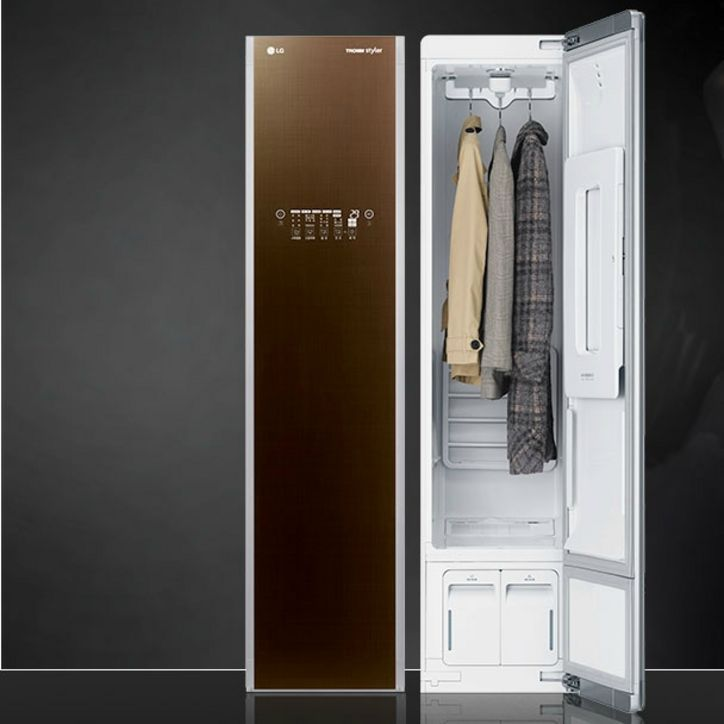 The Closet That Cleans Irons And Deodorizes Your Clothes Home Wardrobe Storage Steam Clothes