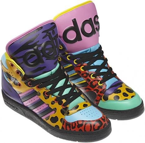 outlet store a8646 3869c  Adidas by Jeremy Scott Autunno Inverno 2012 2013  sneakers