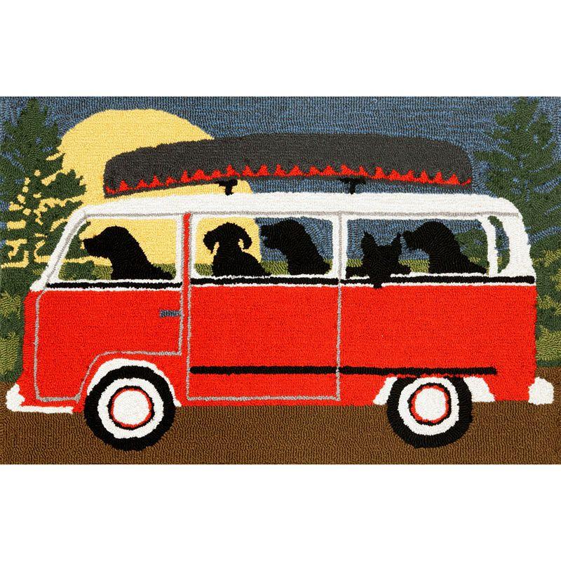 Liora Manne Frontporch Camping Trip Hand Tufted Rectangular