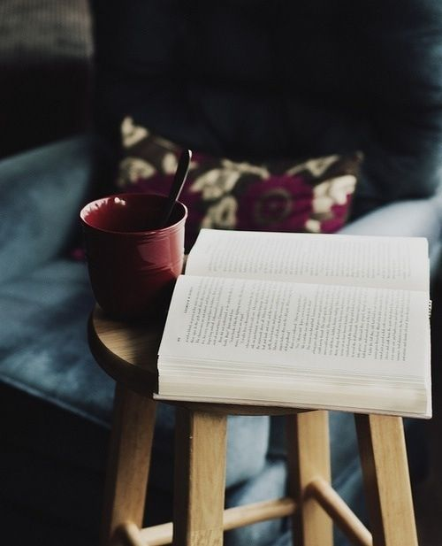 .book and coffee