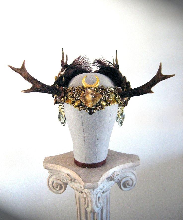 Image result for mens antler headdress   antler headdress ...
