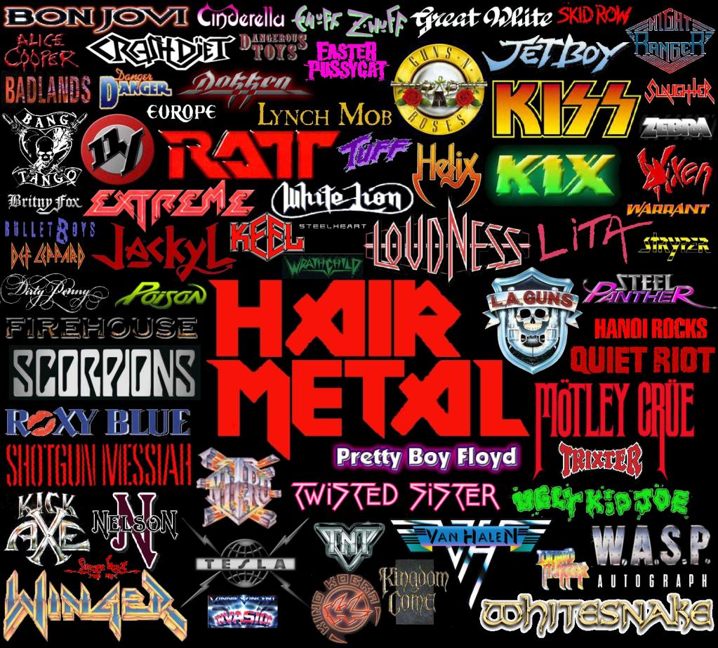 Even though night ranger vh gnr def lep arenut hair metal s