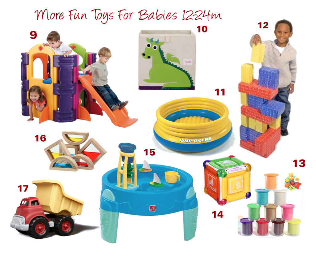 toys for 10 month old baby