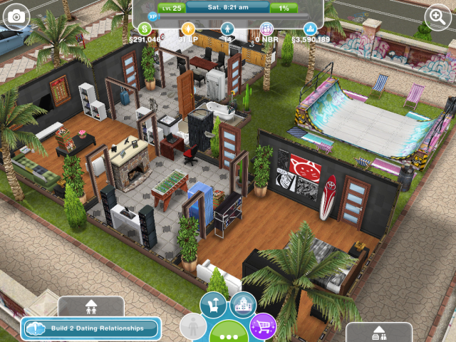 Sims freeplay house pro skater dream pad! | Sims | Pinterest | Pro ...