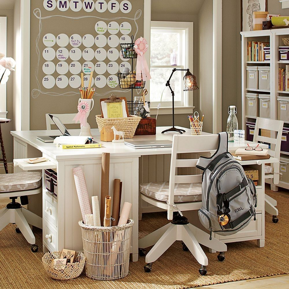 Home Study Design Ideas study room european style home interior design ideas home Creative Homeschool Space 20 Modern Girl Study Room Design Ideas For Teens 2013