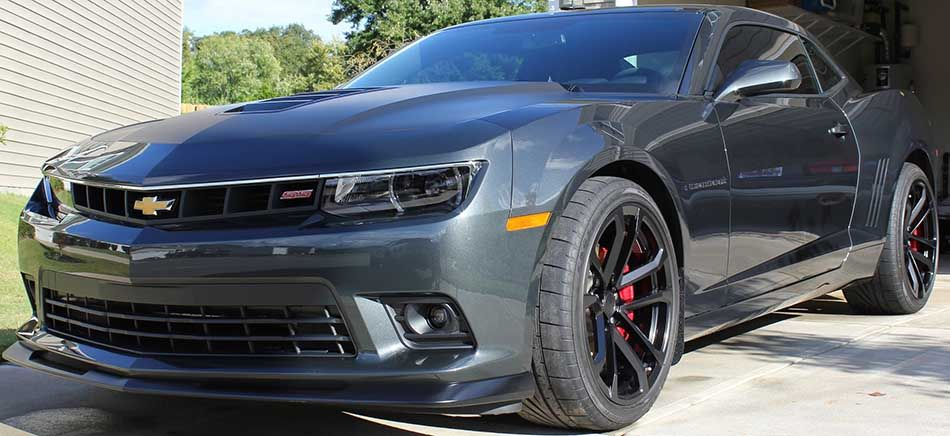 Grey 2014 Chevrolet Camaro 2ss Coupe With 1le Package Sold