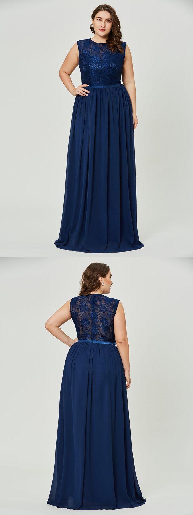 Abendkleider Lang Große Größen Brautjungfernkleider Für ...