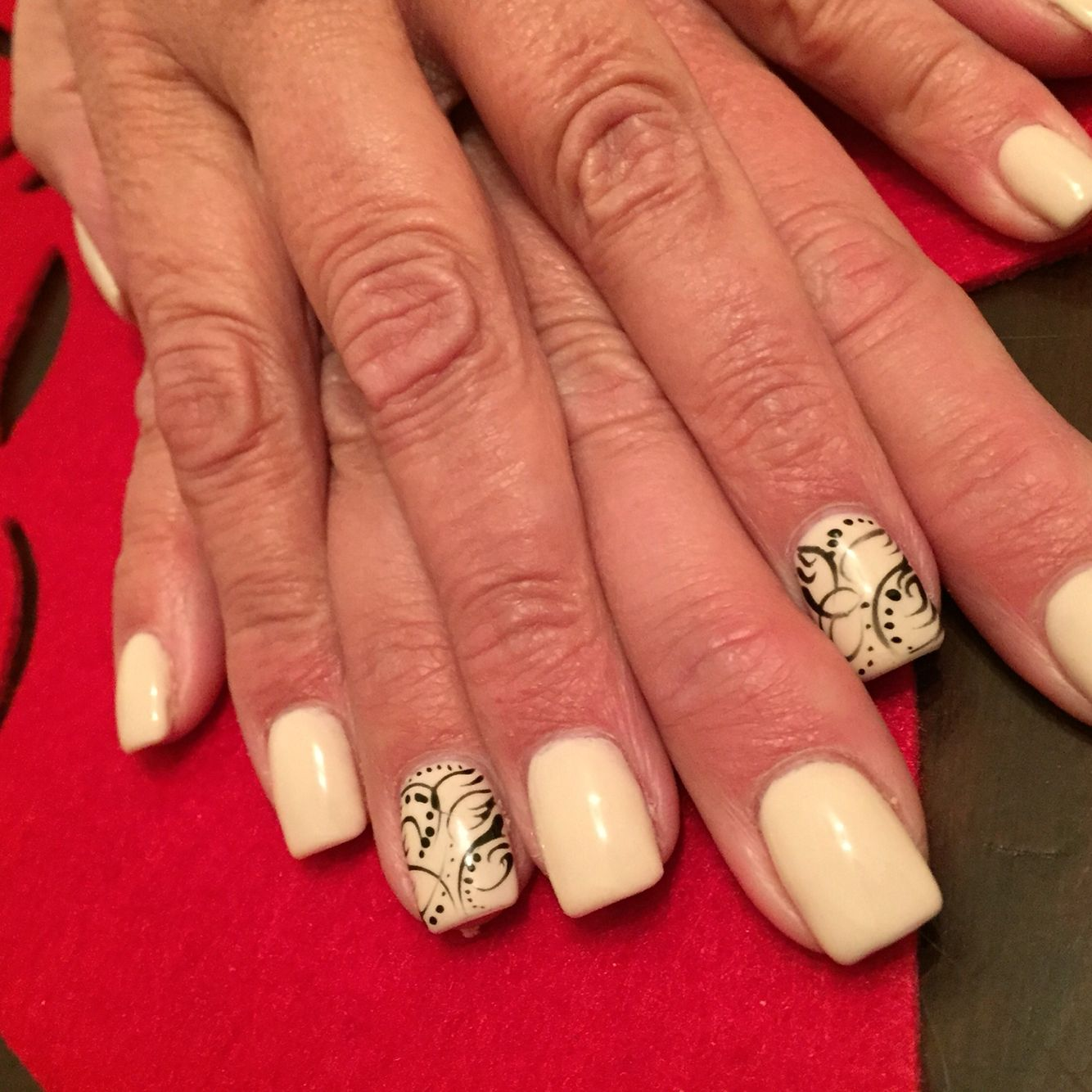 Nails Done At Nail Art Spa Custom Design By Mz Rachel Elgin