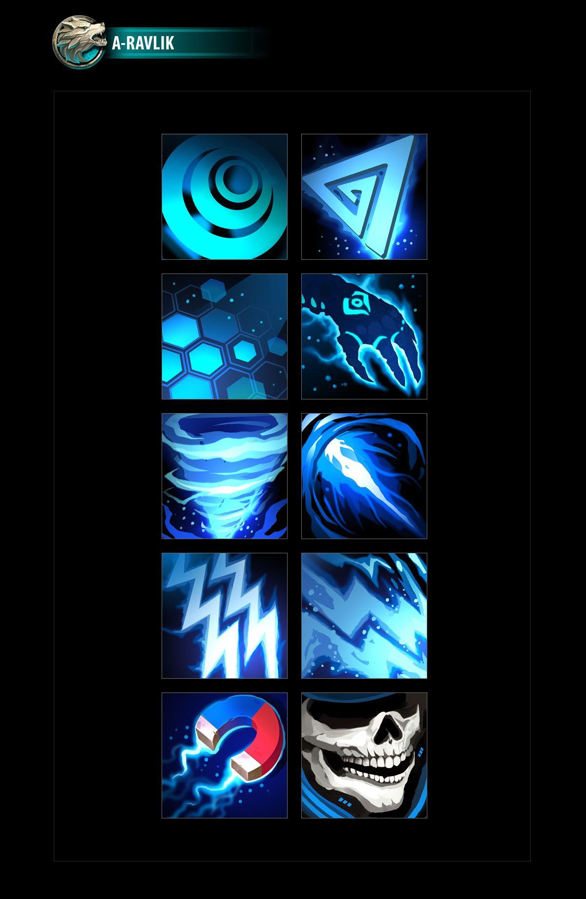 SciFi Ability Icons 02 in 2020 Icon, Sci fi, Game icon