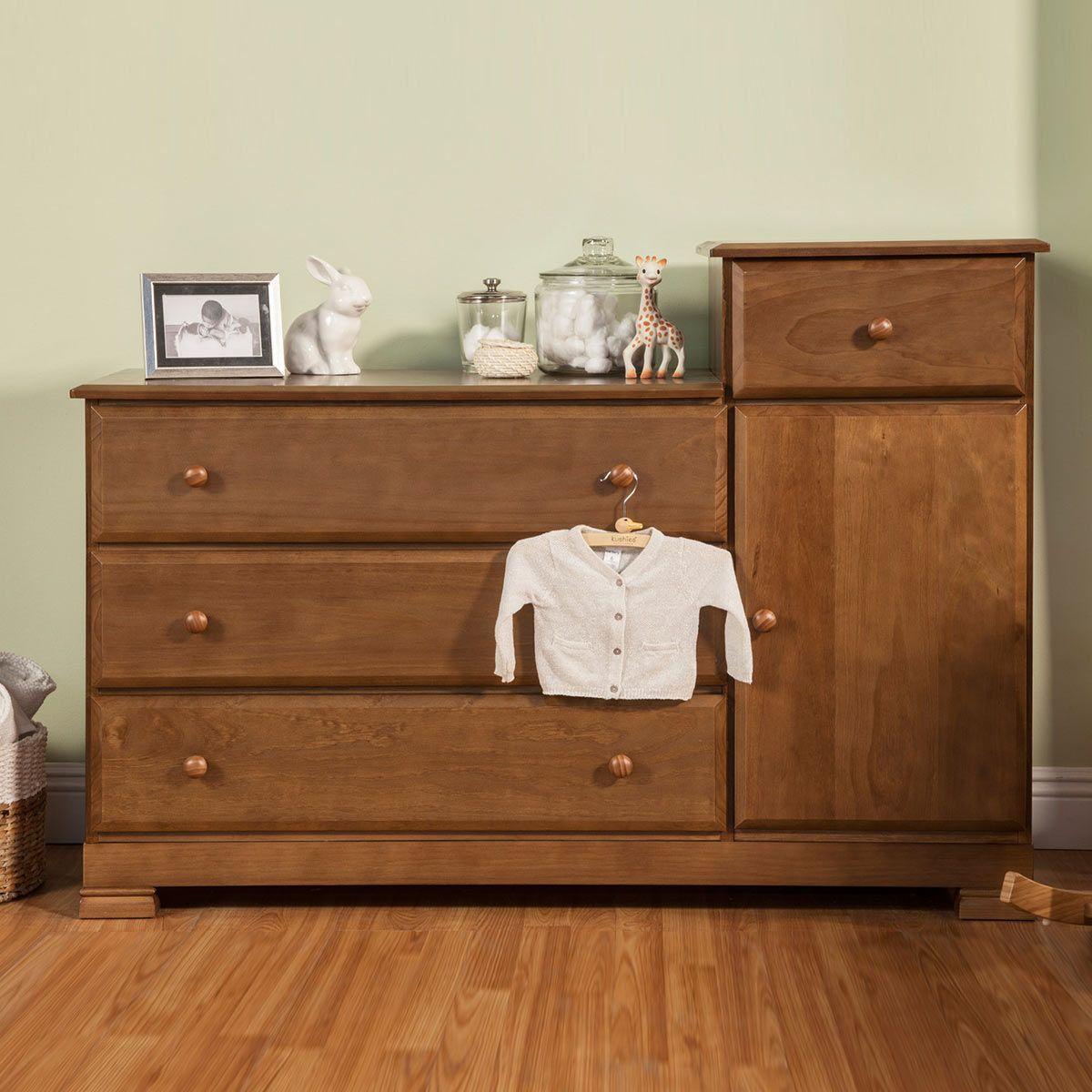Davinci Kalani Combo Dresser In Chestnut Baby Furniture Dresser