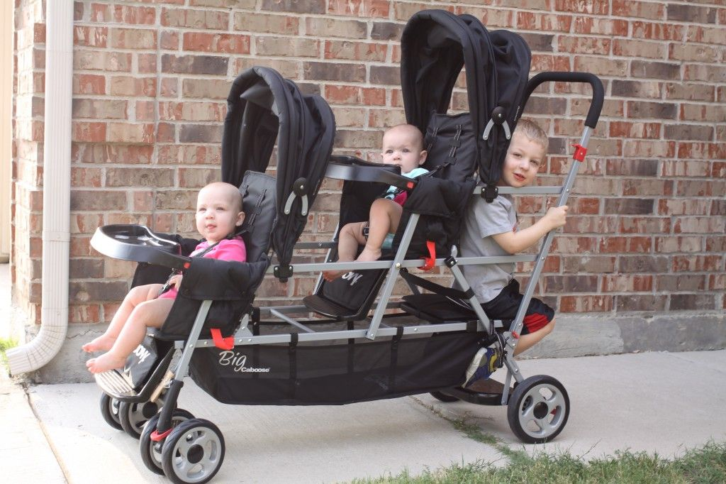 Joovy Big Caboose Stand On Triple Stroller Review Baby