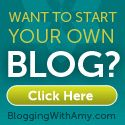 Blogging with Amy